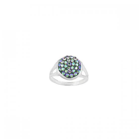 Сребърен пръстен Paradise shine с инкрустирани кристали